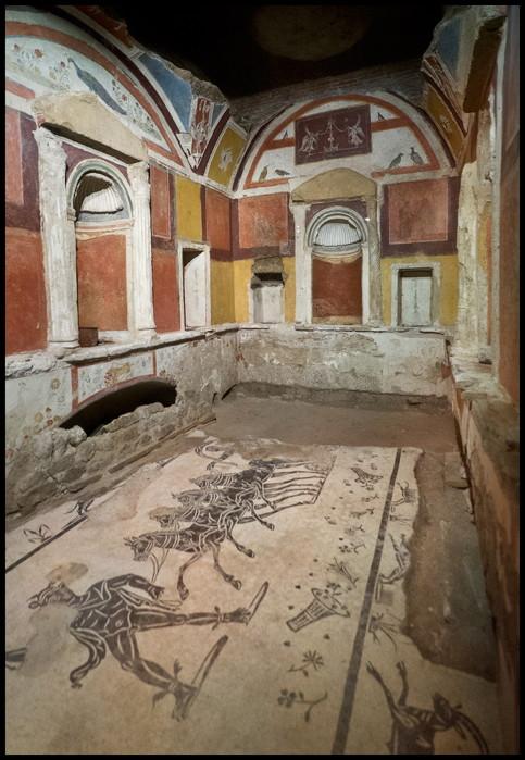 Священные гроты ватикана, ватикан, подземный рим, рим, достопримечательности рима, некрополь, гроты ватикана