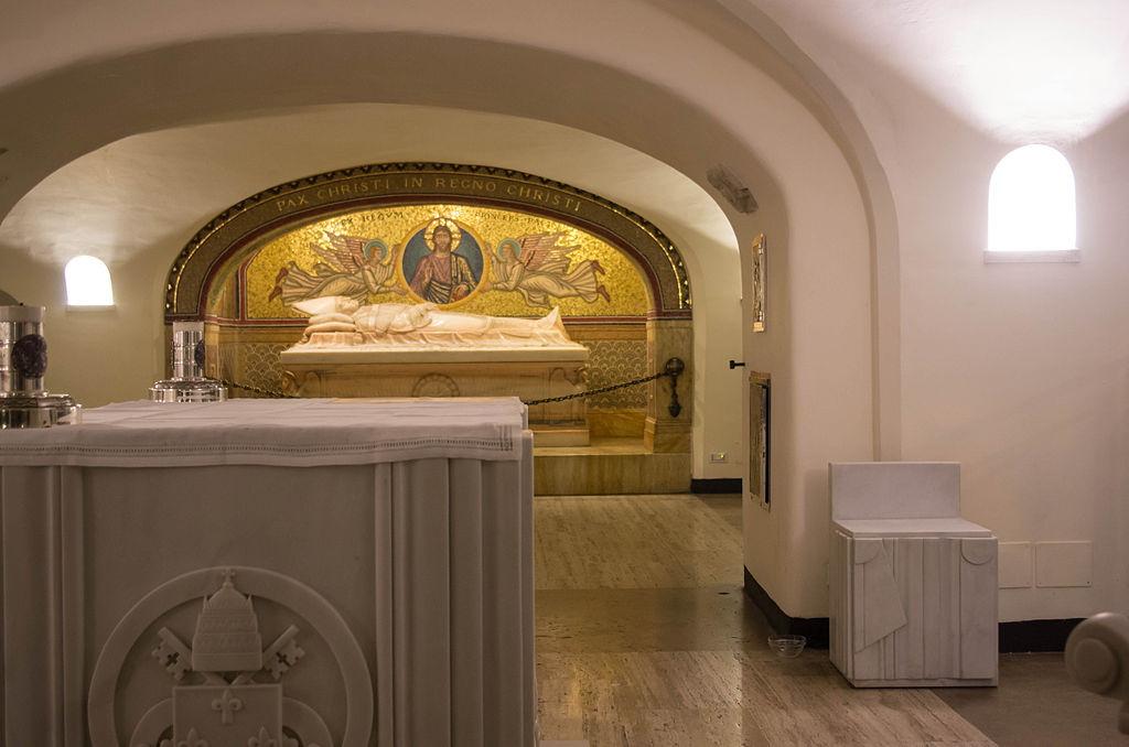 Священные гроты ватикана, ватикан, подземный рим, рим, достопримечательности рима, гроты ватикана