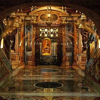 Священные гроты ватикана, ватикан, подземный рим, рим, достопримечательности рима, некрополь, гроты ватикана, капелла святого петра, гробница святого петра
