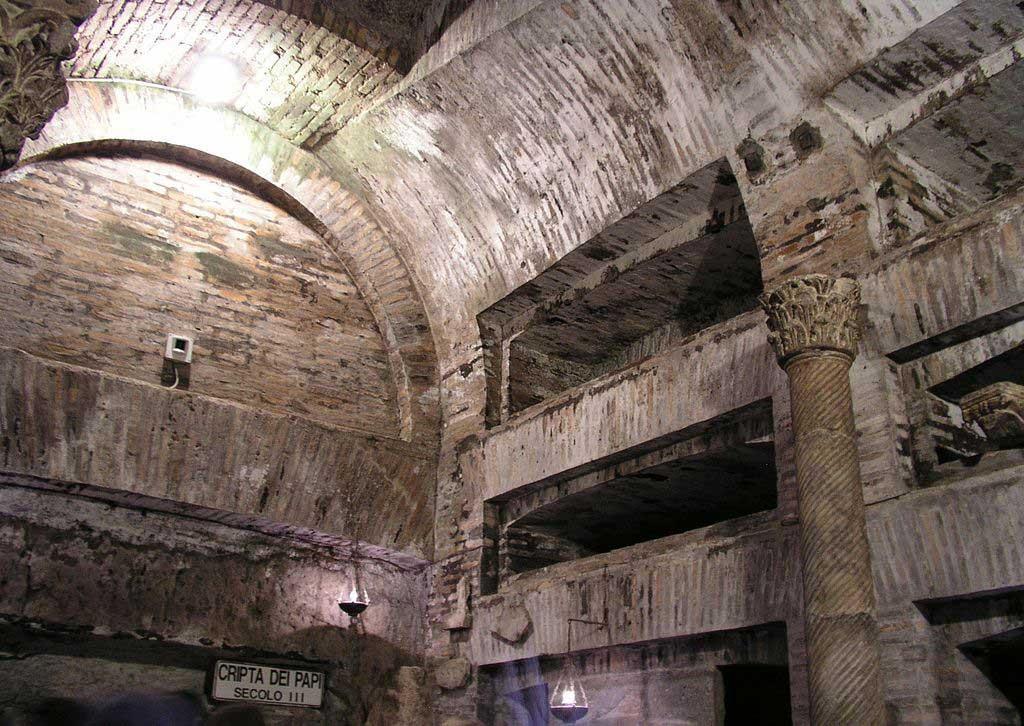 Катакомбы Рима, подземелья Рима, подземный Рим, древний Рим