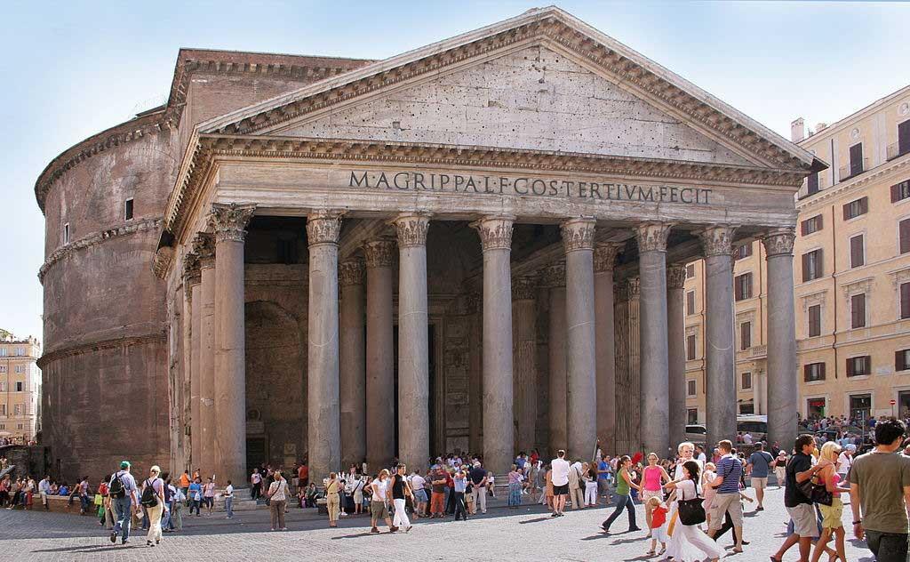 Пантеон, древнейшие храмы рима,храмы рима, рим античный, достопримечательности рима, римский форум, древние храмы, римские руины
