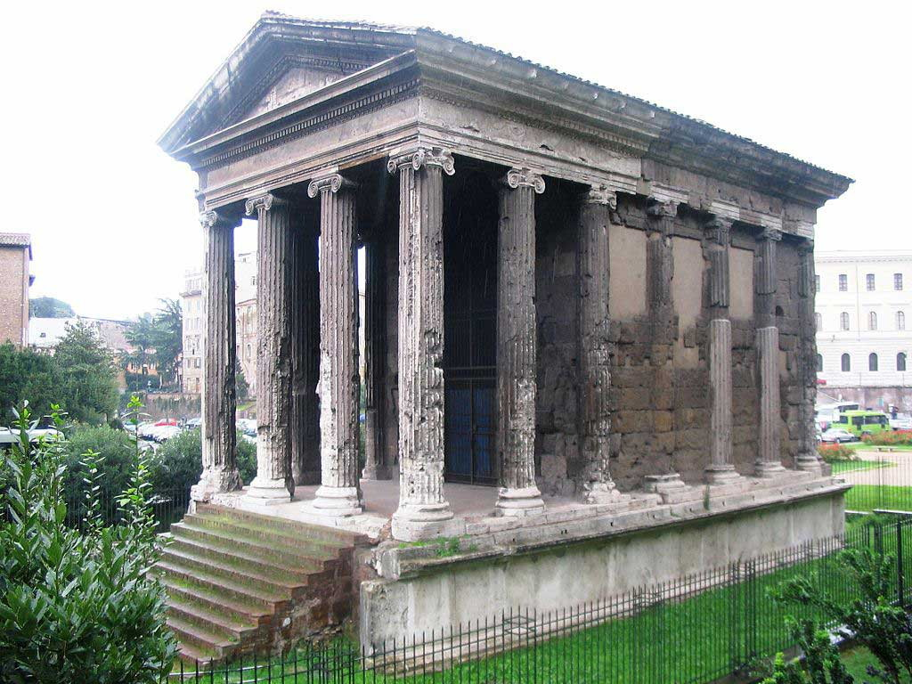 Храм портуна, бычий форум,, древнейшие храмы рима,храмы рима, рим античный, достопримечательности рима, римский форум, древние храмы, римские руины