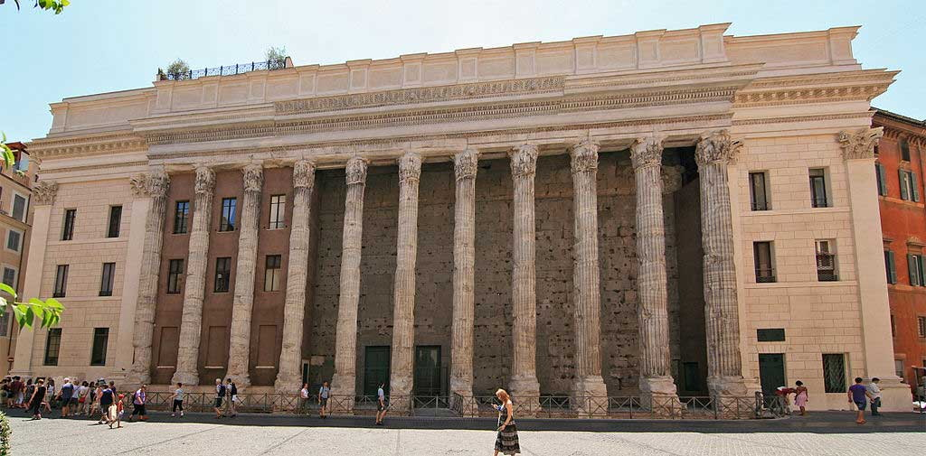 Храм Адриана, древнейшие храмы рима,храмы рима, рим античный, достопримечательности рима, римский форум, древние храмы, римские руины