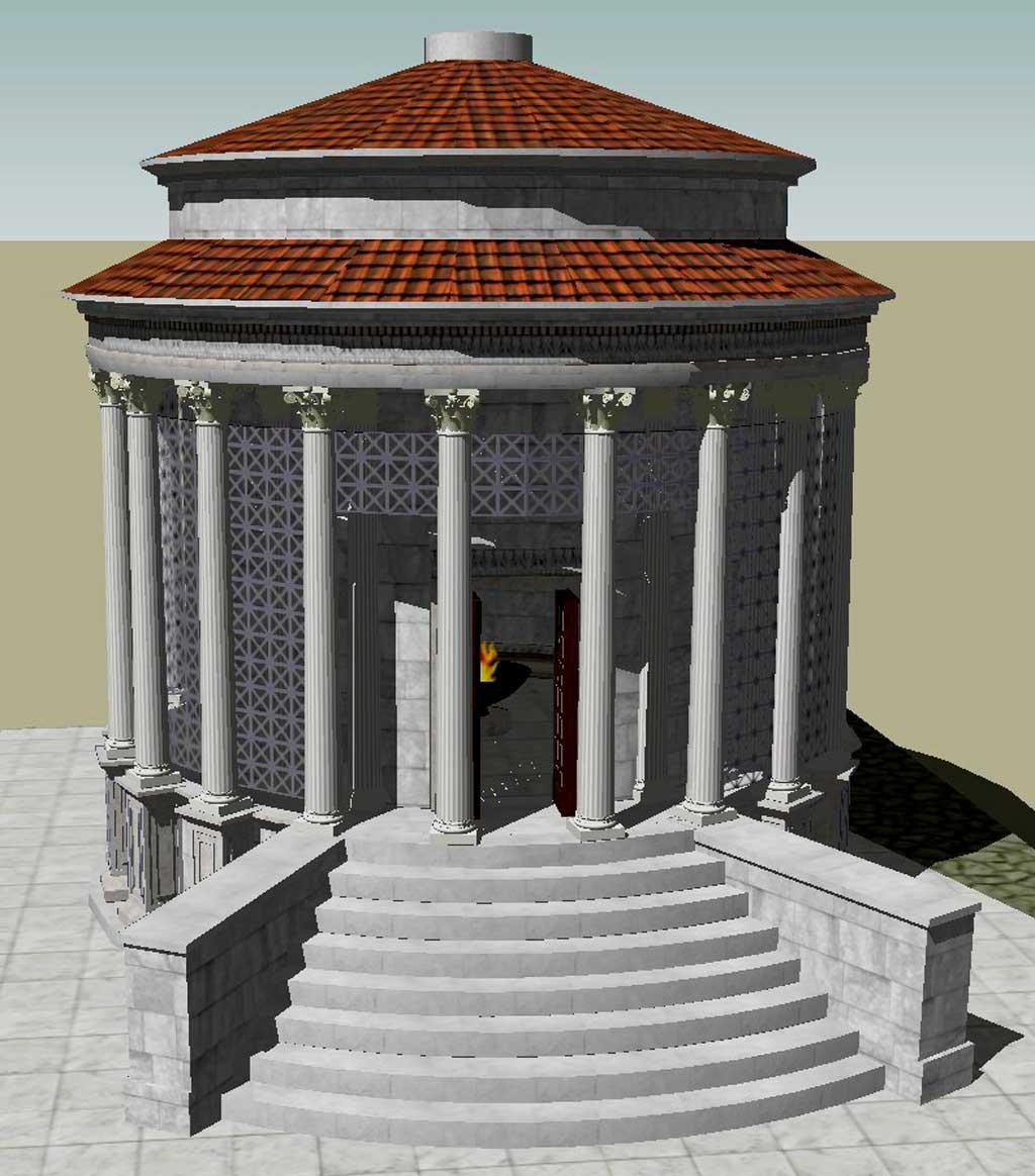 древнейшие храмы рима,храмы рима, рим античный, достопримечательности рима, храм весты, римский форум, древние храмы, римские руины