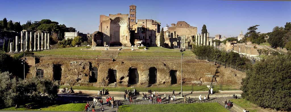Храм Венеры и Ромы, древнейшие храмы рима,храмы рима, рим античный, достопримечательности рима, римский форум, древние храмы, римские руины