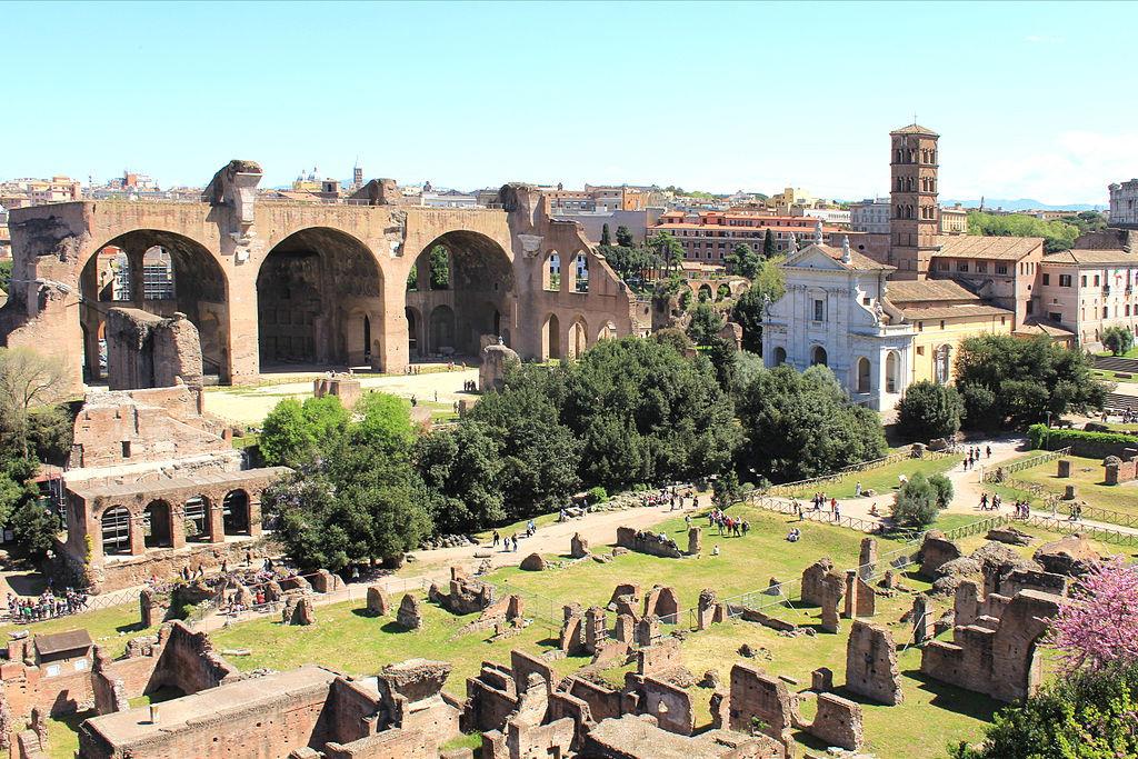 римский форум, форум рим, форум древний рим