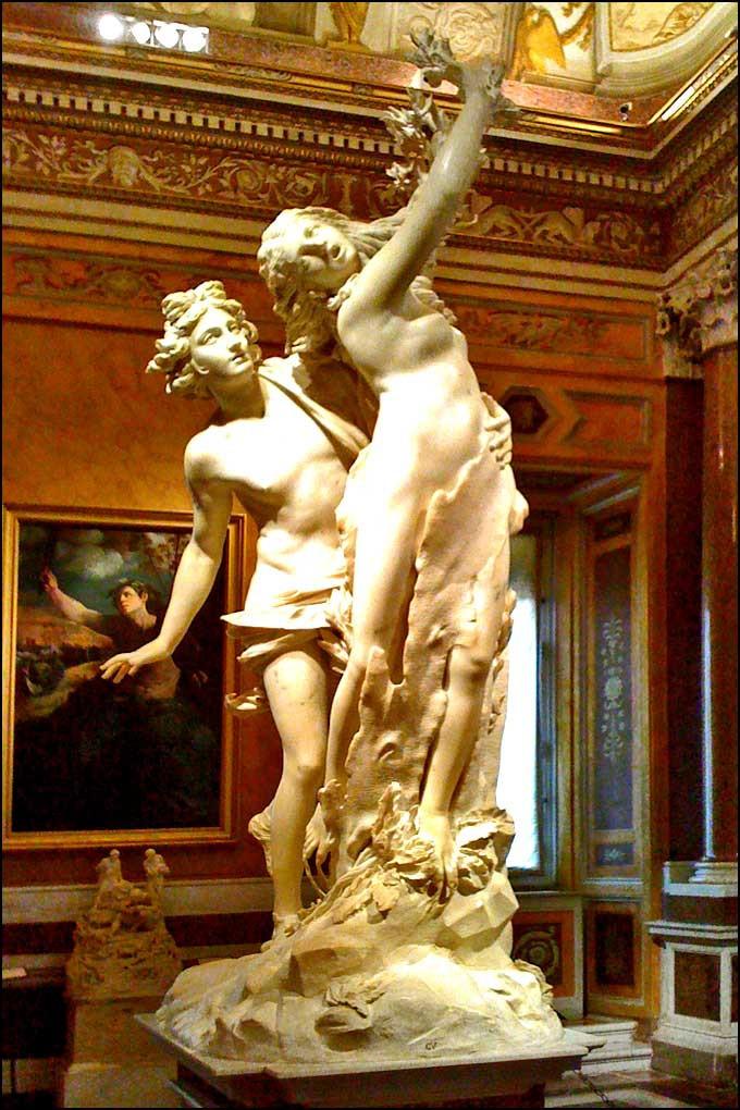Галерея Боргезе, музеи Рима,  скульптуры бернини, скульптуры рима