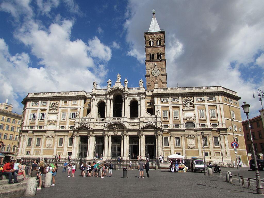 Санта Мария Маджоре, соборы Рима, базилики Рима, римские церкви