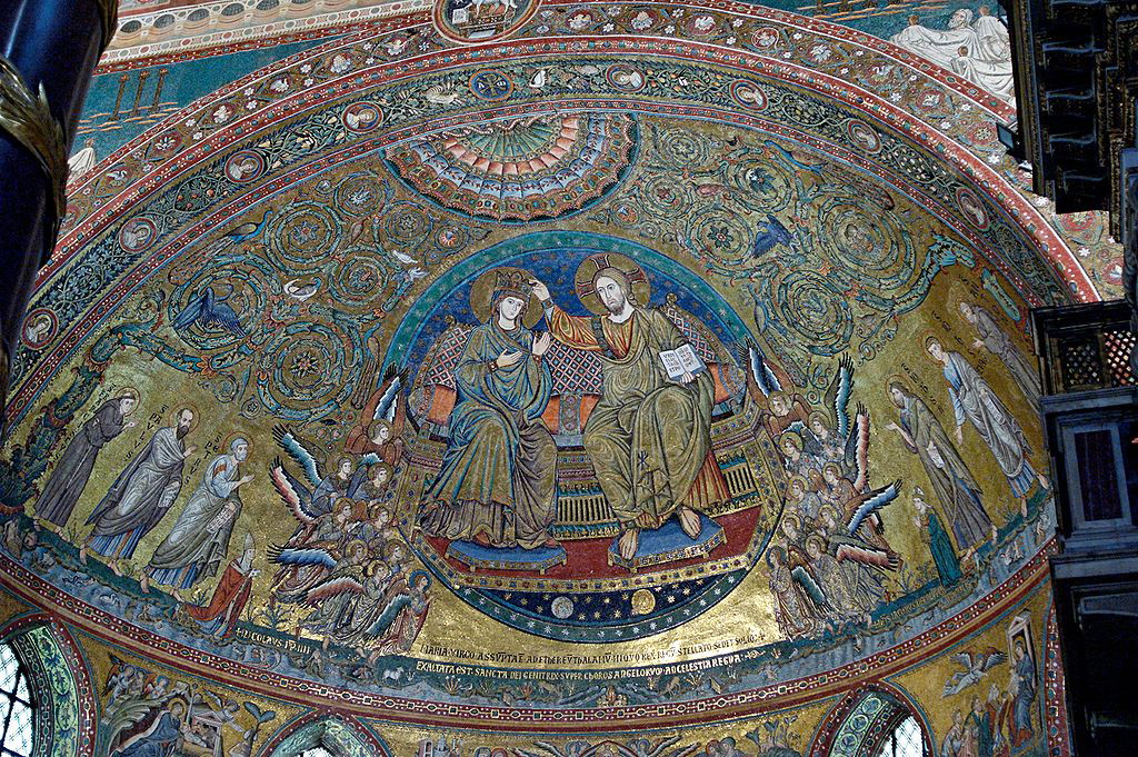 Санта Мария Маджоре мозаики , санта мария маджоре , санта мария маджоре в риме , церковь санта мария маджоре , базилика санта мария маджоре