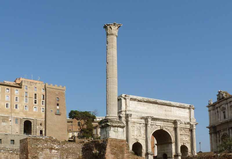 форум рим и колонна фоки