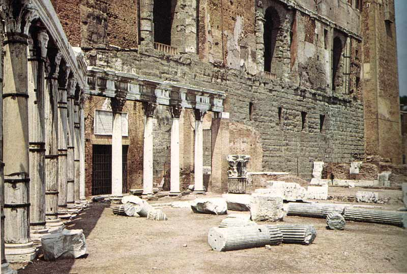 древний римский форум портик согласия
