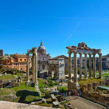 римский форум , форум романо
