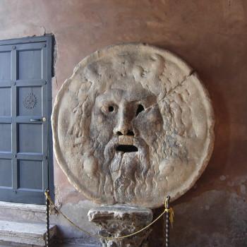 Уста Истины в Риме (Bocca della Verità)