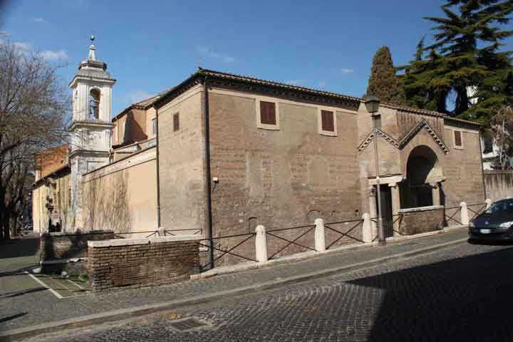Базилика Святого Климента главный вход