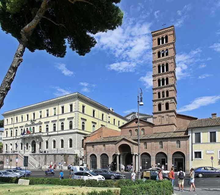 базилики рима , церкви рима , санта мария космедин