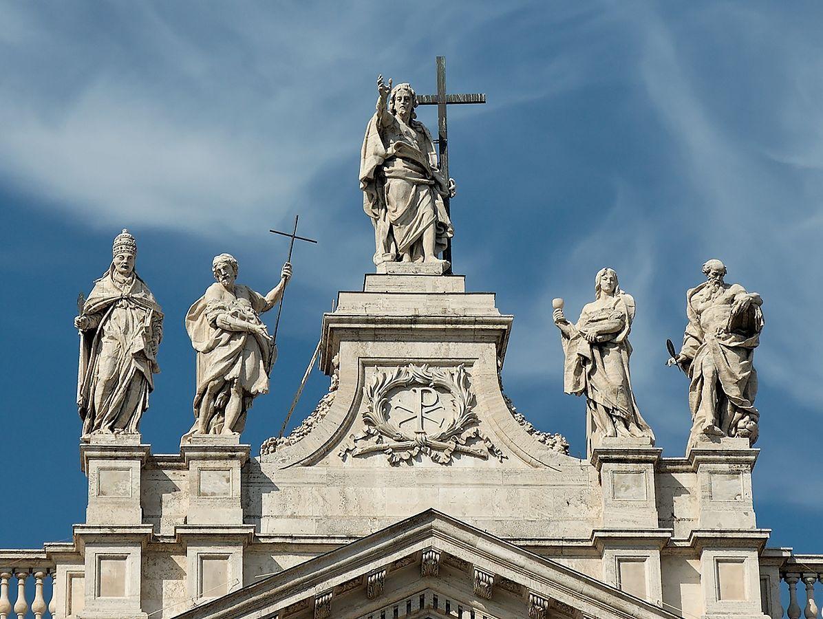 Базилика Сан Джованни ин Латерано Рим Латеранский собор