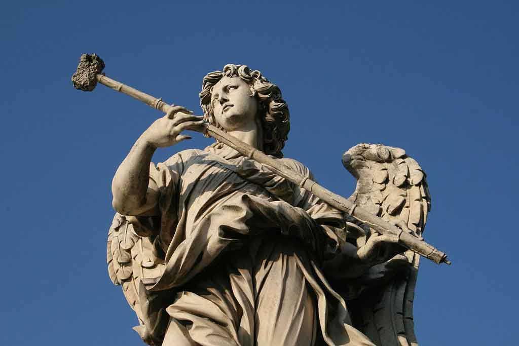 мост святого ангела в риме мост ангелов в Риме мосты древнего рима