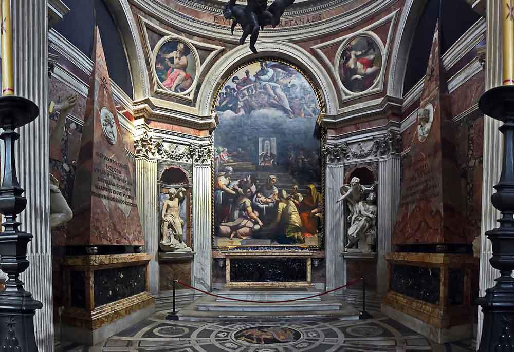 Капелла Киджи рафаель в риме Базилика Санта Мария дель Пополо