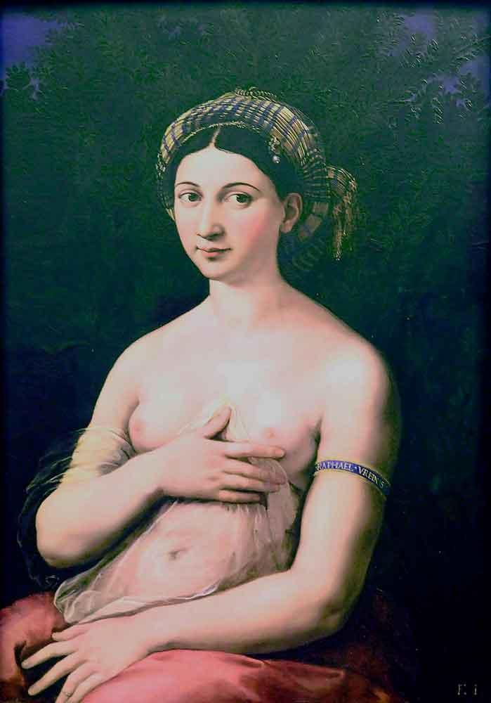 рафаэль санти рим, форнарина рафаэль, картины рафаэля рим