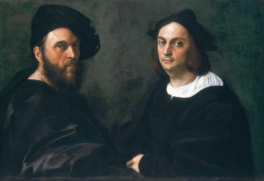 рафаэль санти рим, галерея дория памфили, картины рафаэля риме портрет