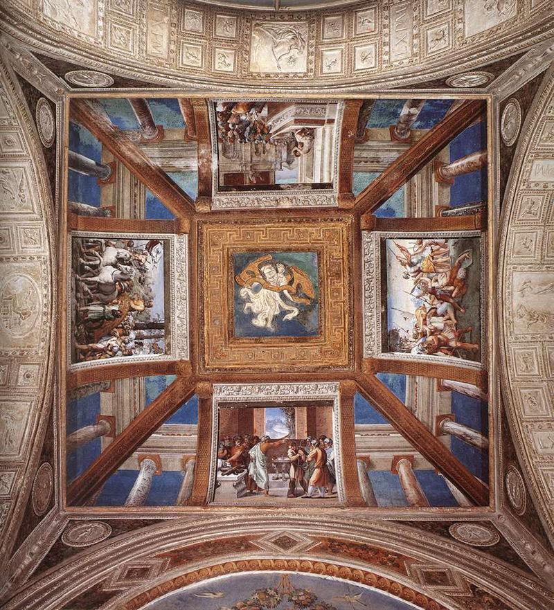 Лоджия Рафаэля фрески Апостольский дворец Ватикан