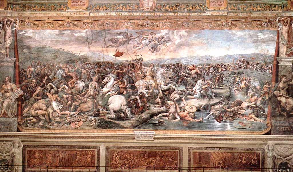 Ватикан Станцы Рафаэль Санти Рим БитваКонстантином Максенцием