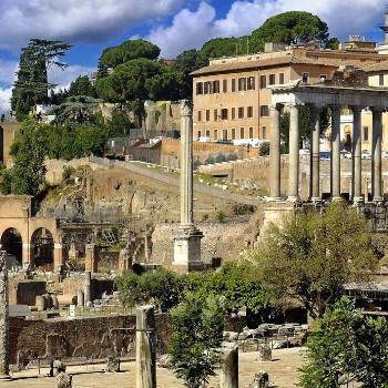 Холмы Рима и городские стены