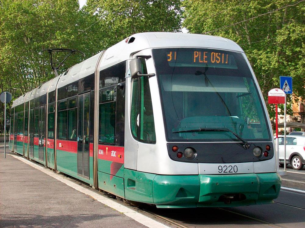 городской транспорт рима трамваи билеты
