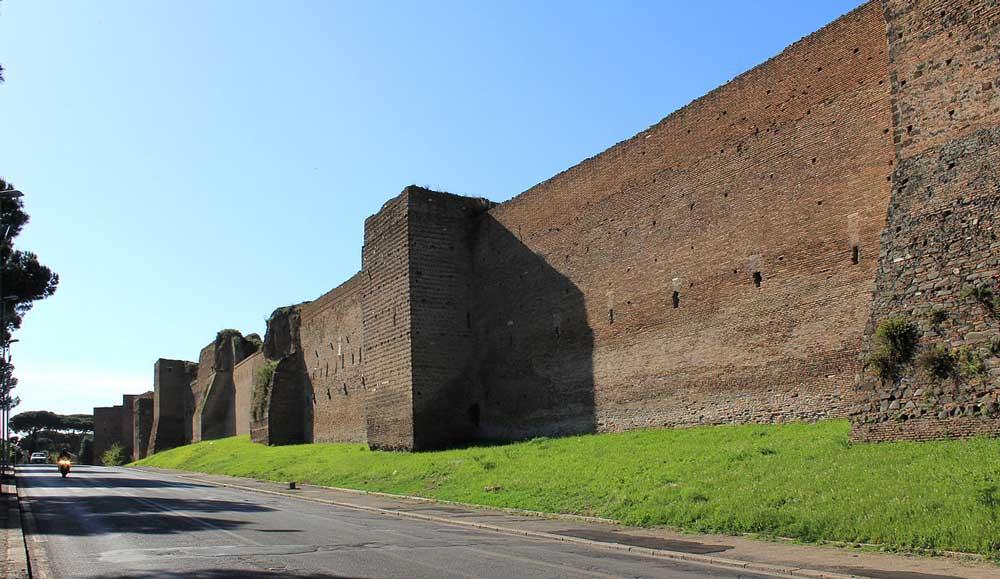 Аврелианова стена древний рим древние стены рима римские городские стены