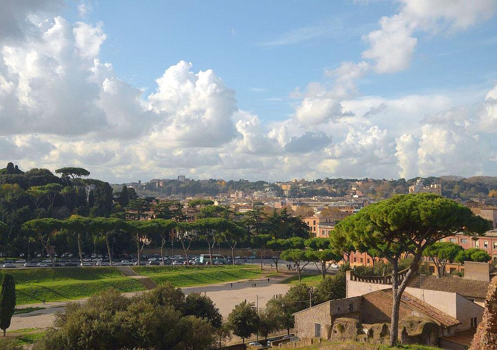 древний рим холмы рима римские городские стены