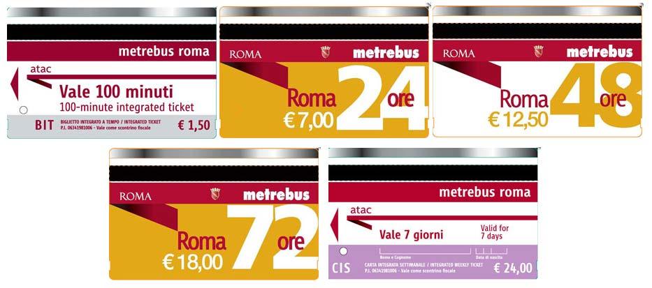 Все о городском транспорте Рима: билеты, стоимость, расписание