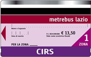 cirs билеты городской транспорт рима стоимость билетов рим