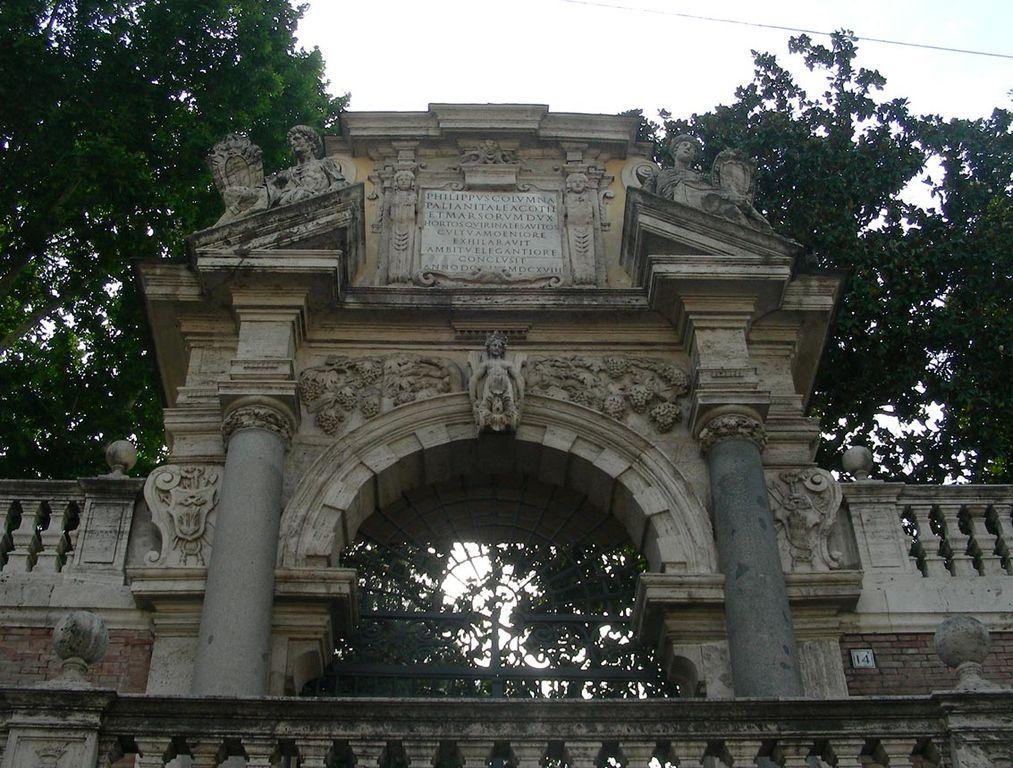 палаццо колонна в риме входной портал
