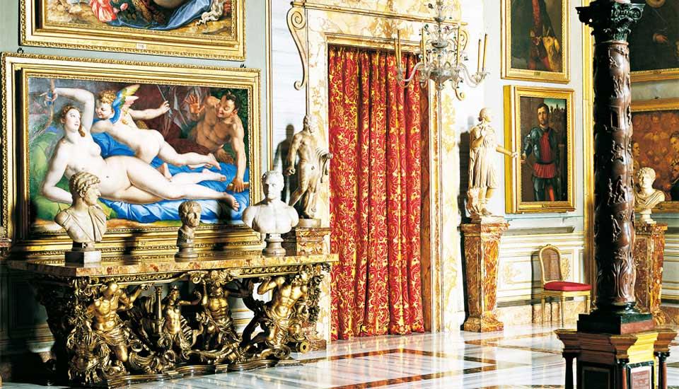 Дворец колонна в риме, галерея колонна