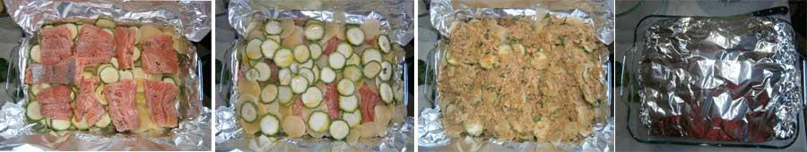 кухня итальянская лосось картофель цуккини кабачки рецепты итальянской кухни