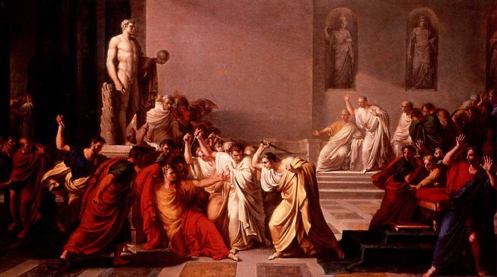 история италии рима древний рим римская республика сенат курия сенаторы убийство юлия цезаря
