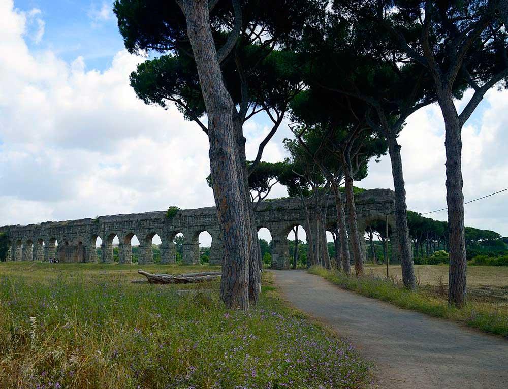 Рим Парк Акведуков Риме руины античный город акведуки