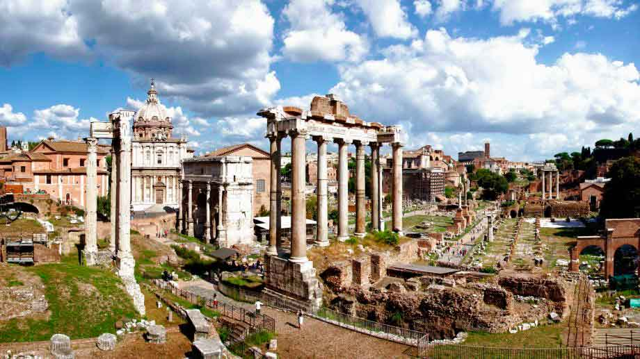 смотровые площадки Рима, римский форум, достопримечательности Рима, бесплатный рим,