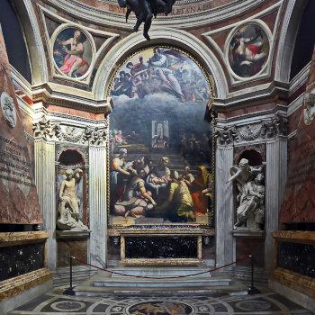 Капелла Киджи в Санта Мария дель Пополо