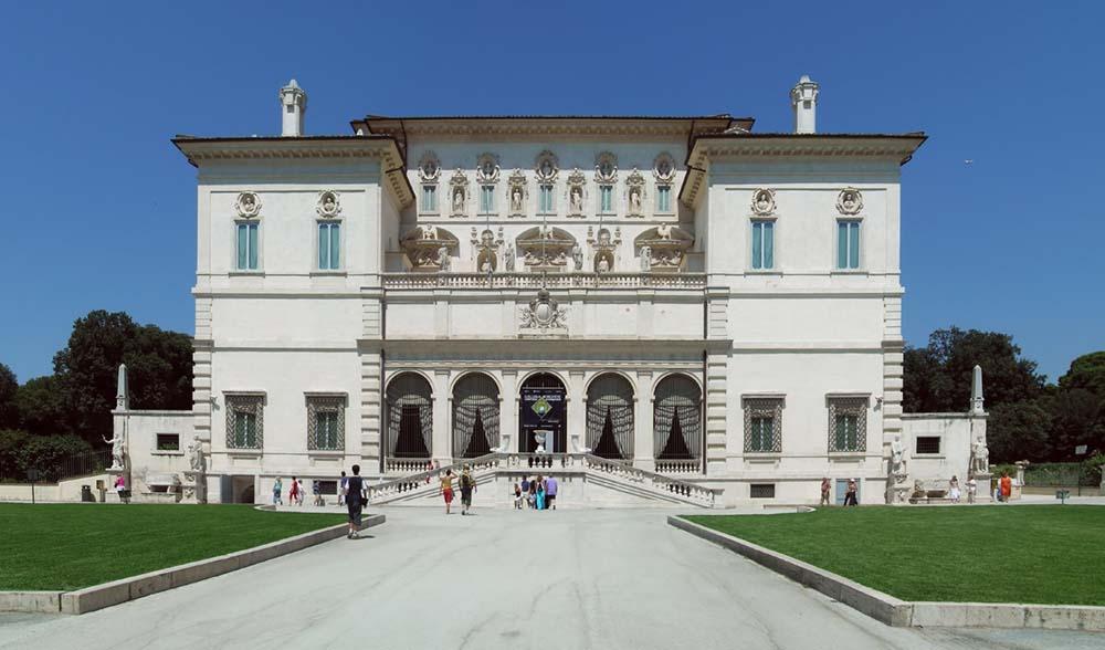 достопримечательности Рима, вилла галерея боргезе