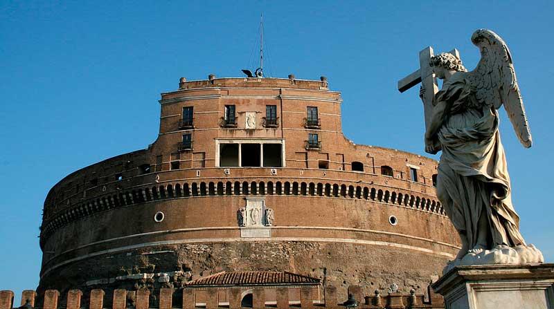 что посмотреть в Риме, достопримечательности Рима, замок святого ангела