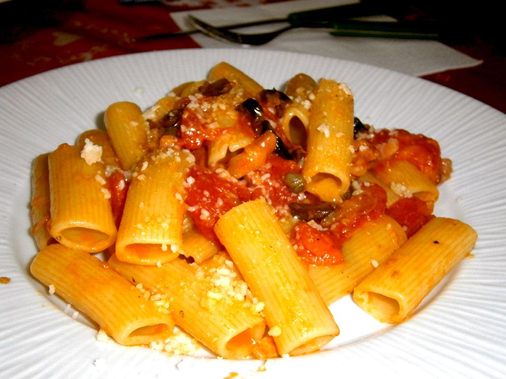 итальянская кухня рецепты итальянской кухни паста путтанеска макароны