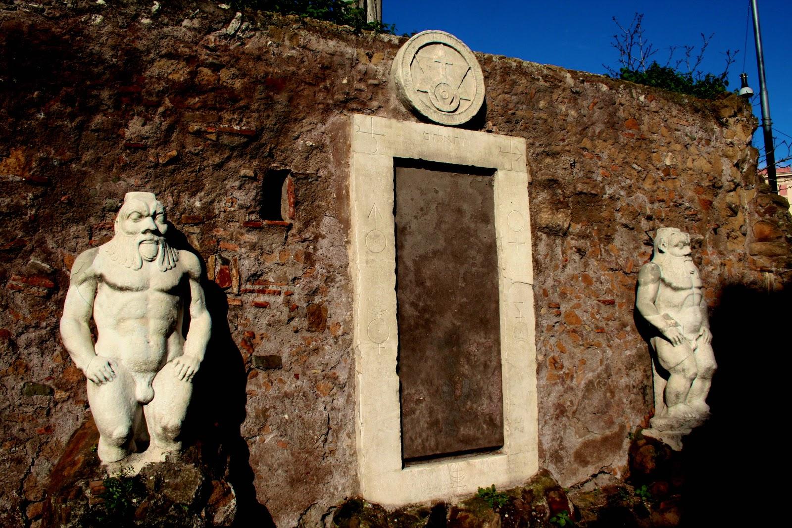 Неизведанный волшебный Рим с детьми за один день вилла торлония домик сов порта маджика волшебная дверь палаццо дзуккари квартал коппеде