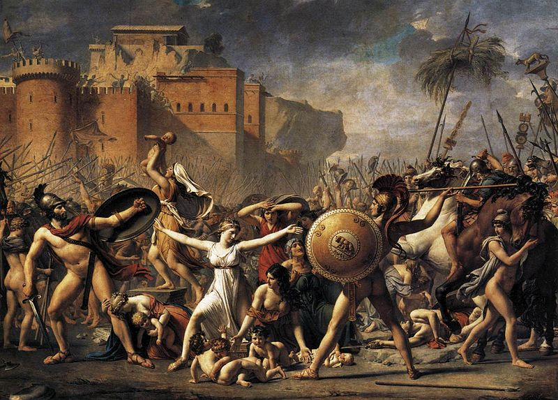 древнеримский первый царь основатель рима ромул похищение сабиянок