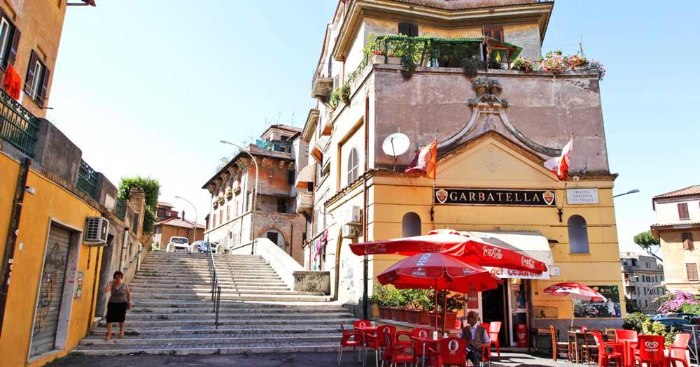 главные достопримечательности Рима вечный город что посмотреть куда сходить история рима гарбателла колоритный рим красивые фото типичная италия старые кварталы рима