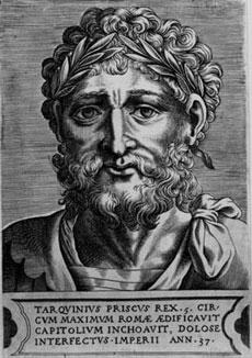 Древне римский царь Тарквиний Древний