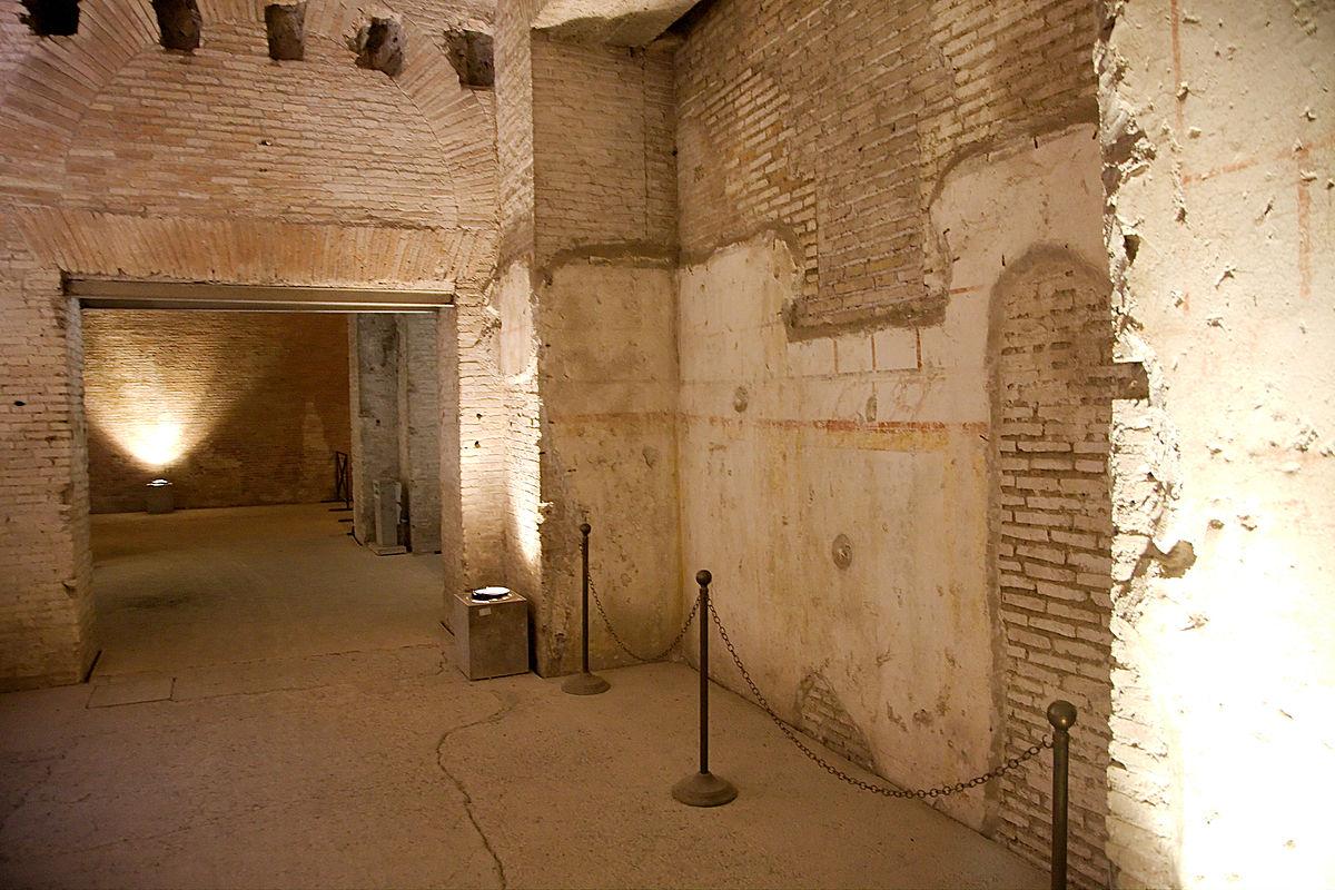 центр рима отели в центре рима достопримечательности исторический центр рима домус ауреа золотой дом нерона археологические памятники рима древний рим