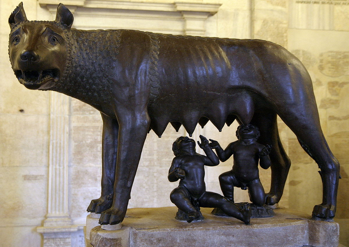 главные достопримечательности Рима вечный город что посмотреть куда сходить история рима капитолийская волчица ромул рем рэм легенда римские близнецы капитолийские музеи капитолий