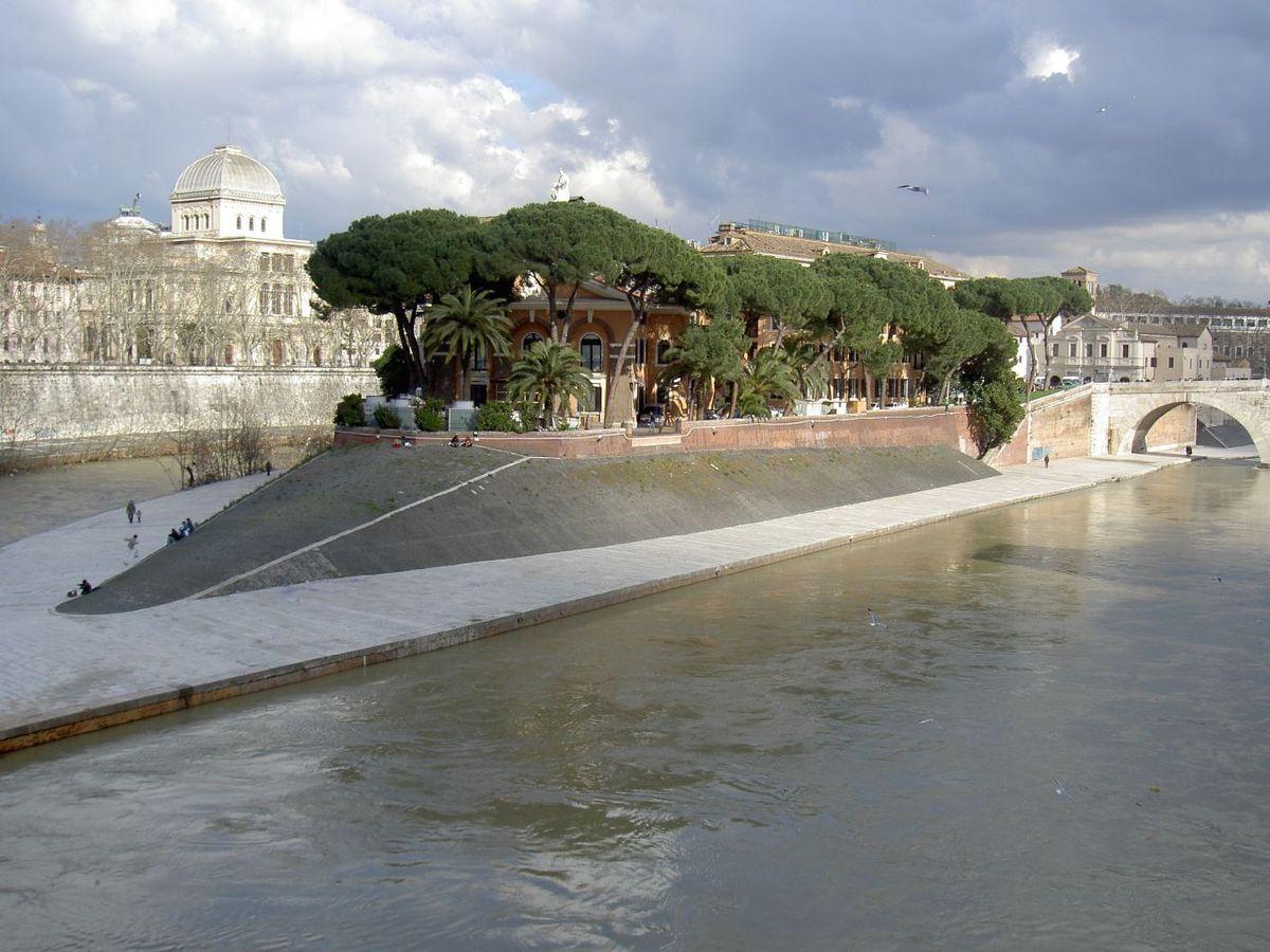 главные достопримечательности Рима вечный город что посмотреть куда сходить история рима изола остров тиберина на тибре