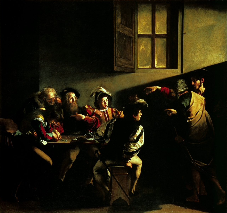 картины Kараваджо, призвание апостола матфея, достопримечательности Рима